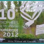 Le 25 et 26 avril 2012, c'est quand on est finaliste en développement durable et lauréat du prix coup de coeur des trophées numériques de la région